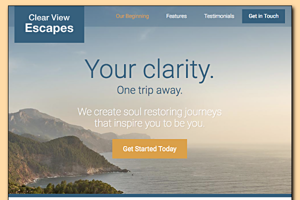 Go to Mock Travel Sites