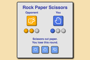 Go to Rock Paper Scissors